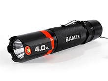 Striker BAMFF 4.0XL Dual LED Flashlight - CREE LED - 400 Lumens - Includes 4 x AA