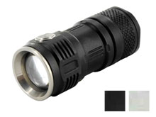 Sunwayman T16R Pocket EDC Flashlight - CREE XM-L2 U3 LED - 380 Lumens - Uses 1 x CR123A or 1 x 16340  - Black