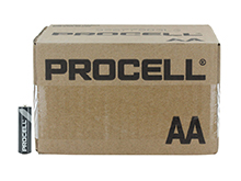 Duracell Procell PC1500 (144PK) AA 1.5V Alkaline Button Top Batteries - Contractor Pack of 144