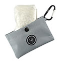 Ultimate Survival Technologies Pocket Poncho - Full-Size Rainwear with Travel Pouch - Grey (20-RNW0019-02)