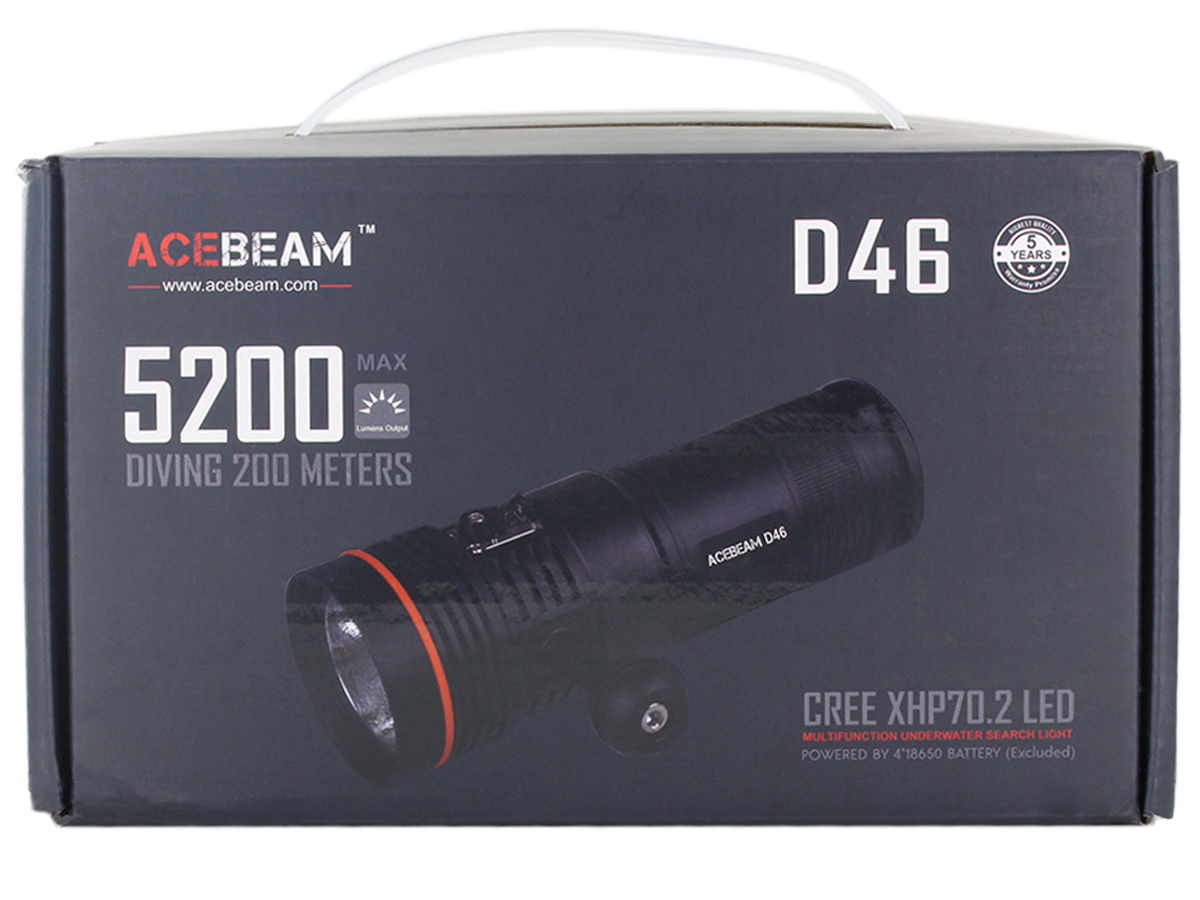 Acebeam D46 package content