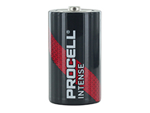 Duracell Procell Intense PX1300 D-cell 1.5V Alkaline Button Top Battery - Contractor Pack Priced Per Cell