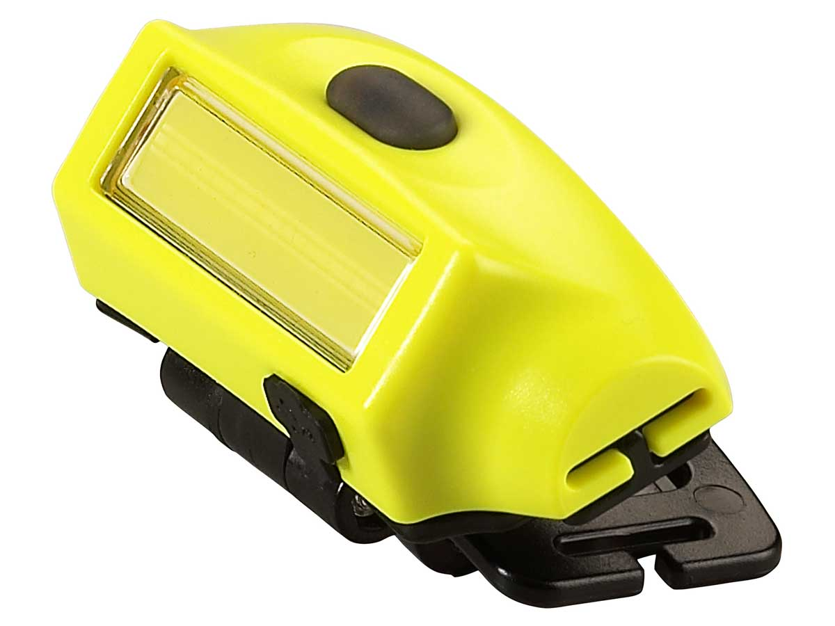LED headlamp up close without a strap