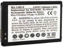 Empire BLI-1495-2 2000mAh 3.8V Replacment Lithium Ion (Li-Ion) Battery for the LG K10 Smartphone