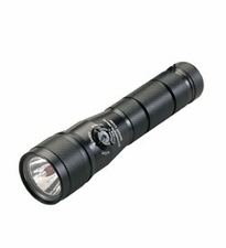 Streamlight Night Com LED 51056 Night Vision Preservation Tactical Flashlight - 1 x C4, 2 x Ultra-Bright Red, 1 x Indicator Type LEDs - 105 Lumens - Includes 2 x CR123As