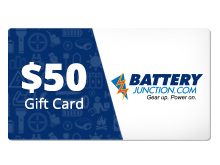 $50 Gift Certificate for BatteryJunction.com