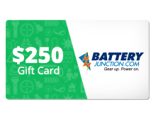 $250 Gift Certificate for BatteryJunction.com