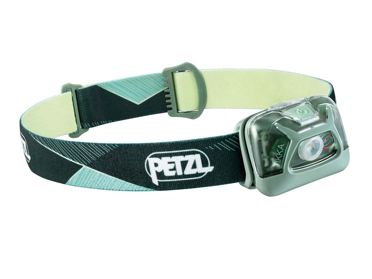 Petzl Tikka Headlamp Flashlight Green