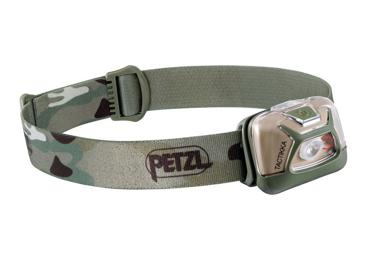 Petzl Tactikka Headlamp Flashlight