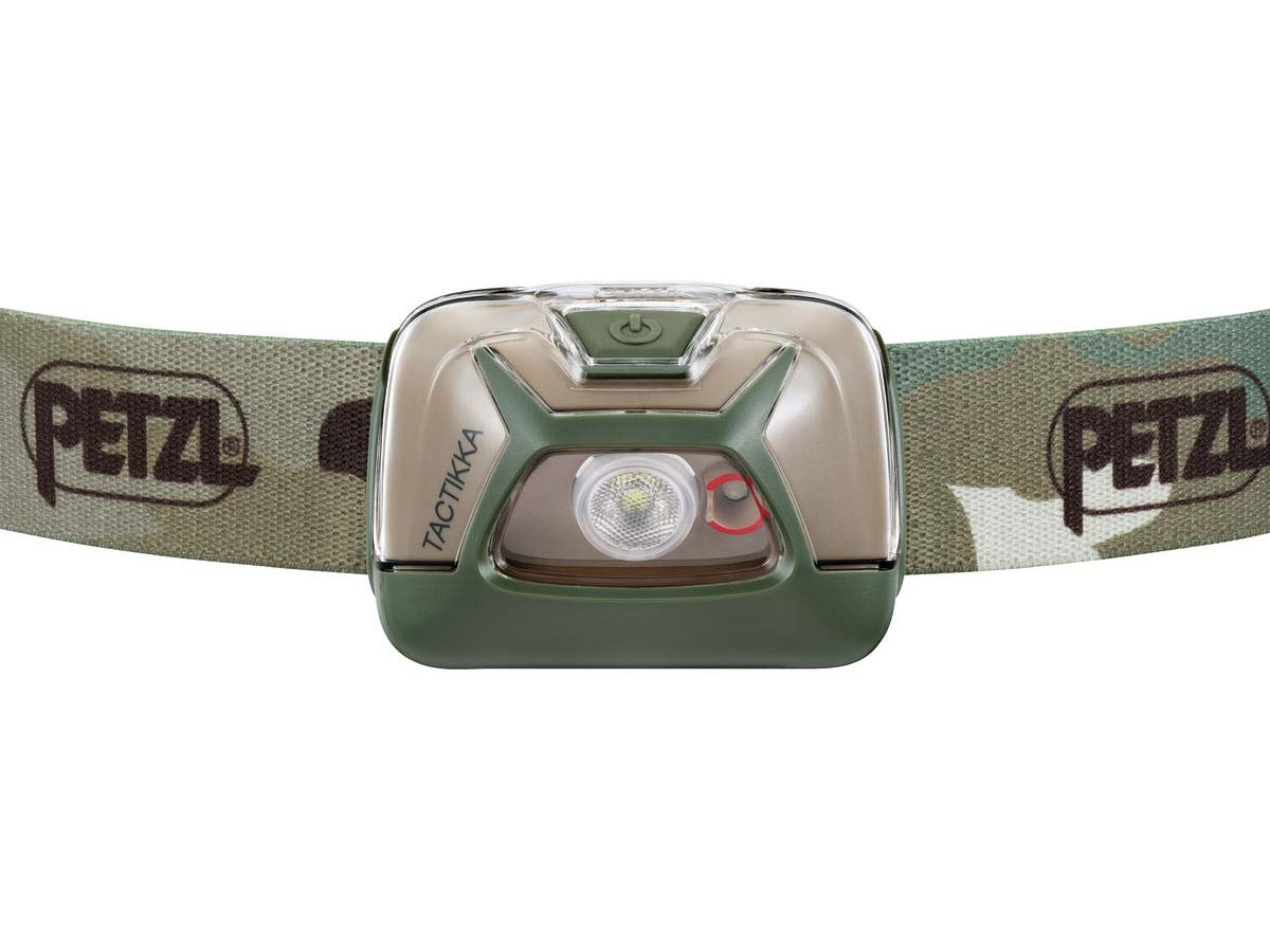 Petzl Tactikka Headlamp Flashlight Camo