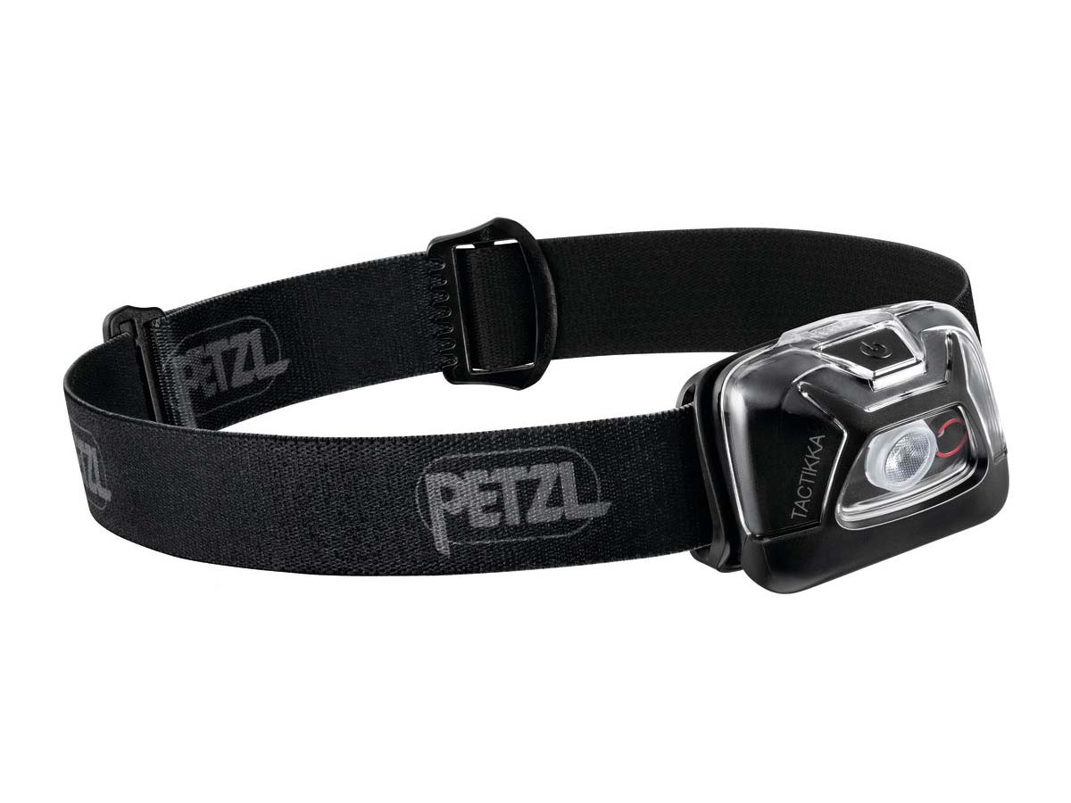 Petzl Tactikka Headlamp Flashlight Black