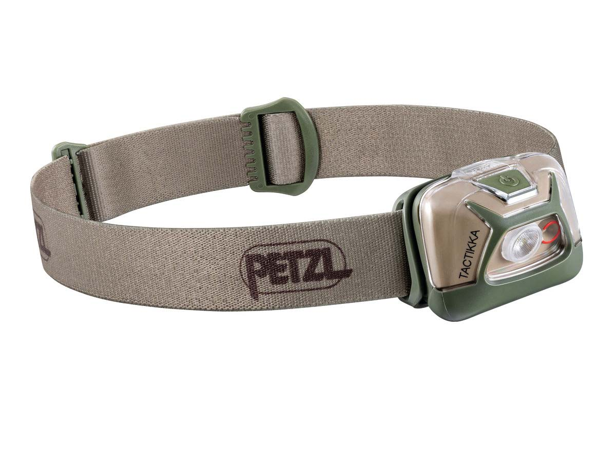 Petzl Tactikka Headlamp Flashlight Desert Tan