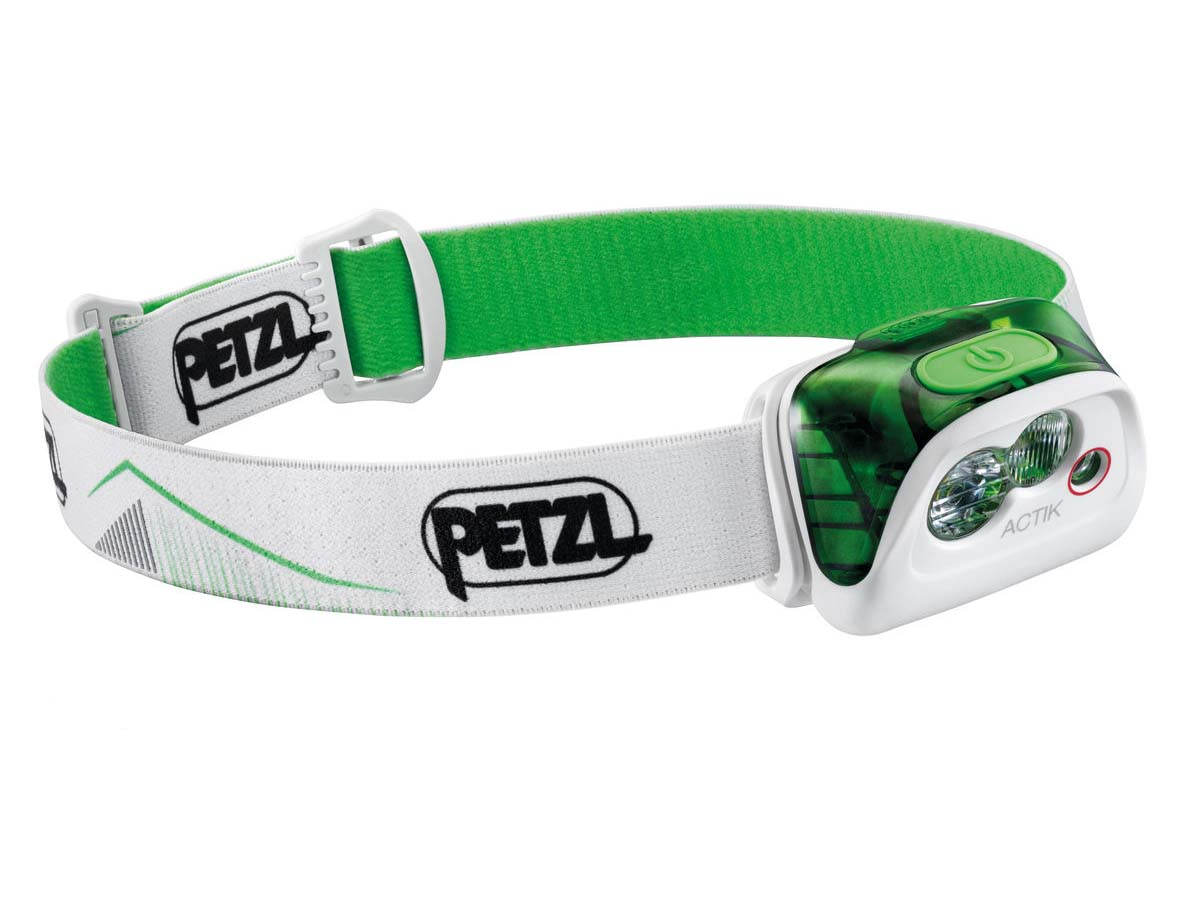 Petzl Actik Headlamp Flashlight White