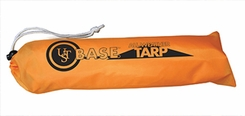 Ultimate Survival Technologies B.A.S.E. All-Weather Tarp For One - 8 x 6-Foot Camping Shelter - Orange (20-5010-01)