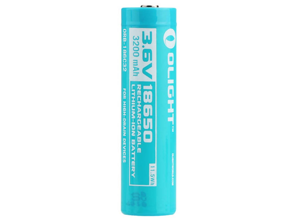 Olight 186C32 18650 Battery for S30R II, S2R and S2R II