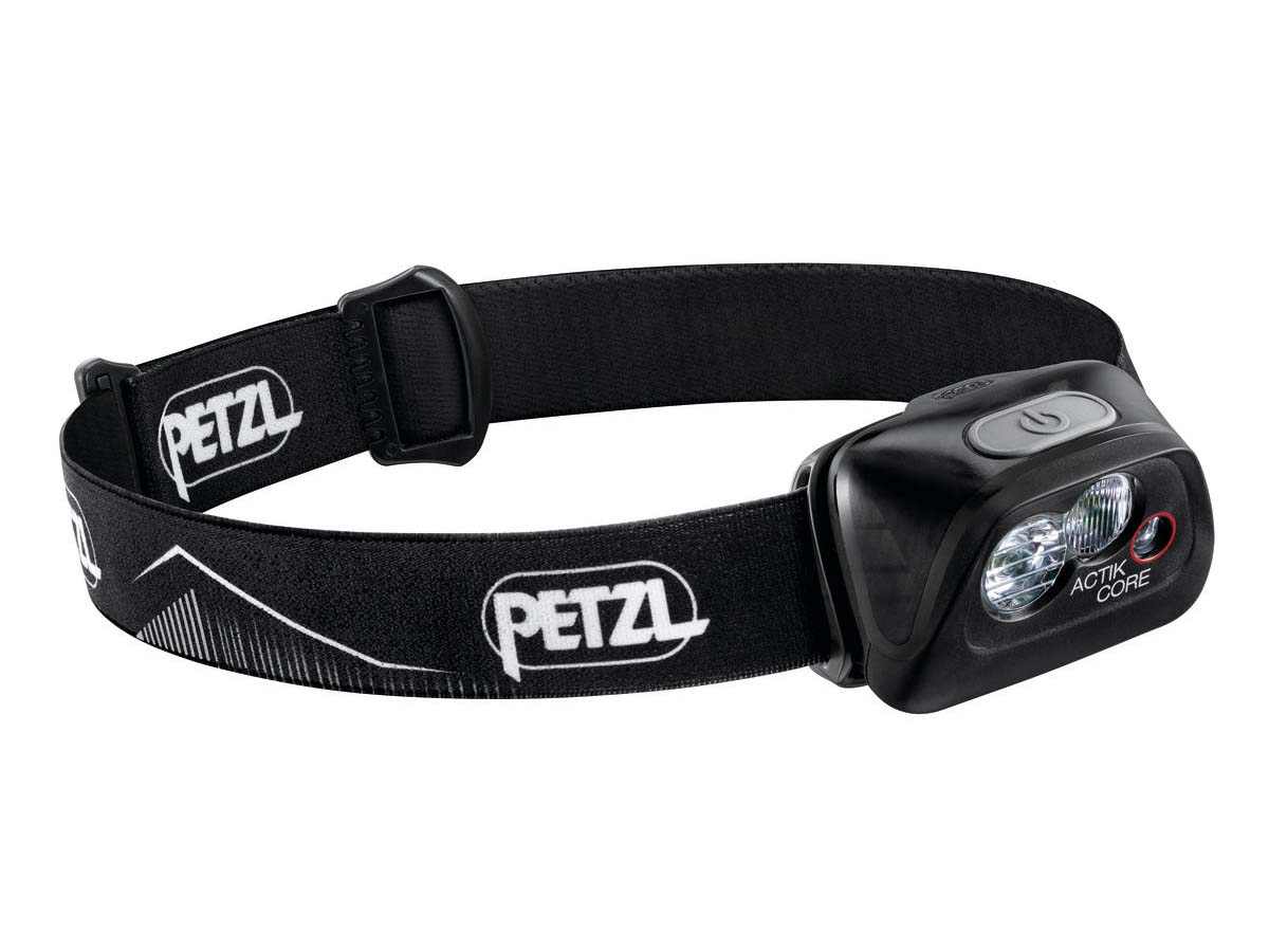 Petzl Actik Core Headlamp Flashlight Black