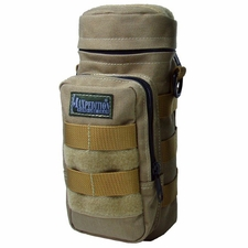 "Maxpedition 0325 10"" x 4"" Bottle Holder Black, OD-Green, or Khaki"