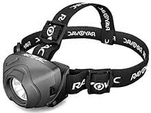 Rayovac Workhorse Pro 3AAA LED Virtually Indestructible DIYHPHL3AAA-BXTB High-Powered Headlamp - 350 Lumens - Includes 3 x AAAs