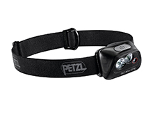 Petzl Tactikka Core Rechargeable Headlamp - 450 Lumens - Includes 1 x CORE 1250mAh Rechargeable Battery - Black (E099HA00)