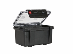 Underwater Kinetics Weatherproof 406 UltraBox - Clear View/Lid Pouch/Padded Liner/Black (08264)