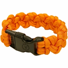 Ultimate Survival Technologies Survival Bracelet - Wrist Band with Nylon Buckle - 7 Feet of Paracord 550 - Orange (20-295-354-N18)