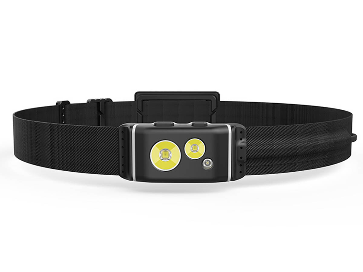 Klarus HR1 Plus Black Running Headlamp Tri-LED Design