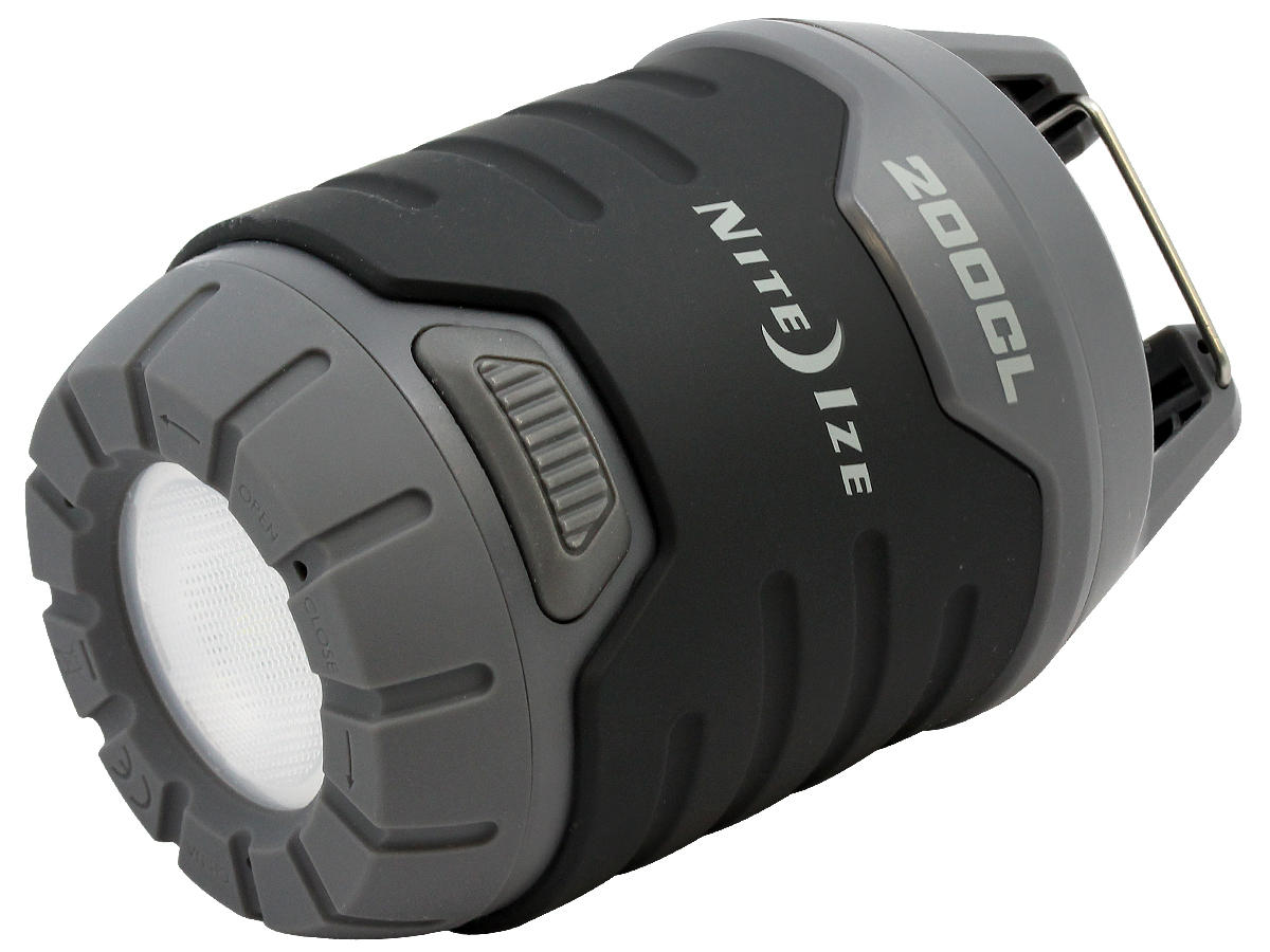 Angle Shot of the Nite Ize Radiant 200 2-in-1 Collapsible LED Lantern
