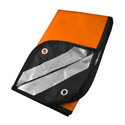 Ultimate Survival Technologies Survival Blanket 2.0 Protective Gear - 60 x 83-inch All-Weather Polyester Cloth - Orange/Reflective (20-PGR0010-08)