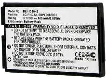 Empire BLI-1350-.8  800mAh 3.7V Replacment Lithium Ion (Li-Ion) Battery for Various LG Cellphones