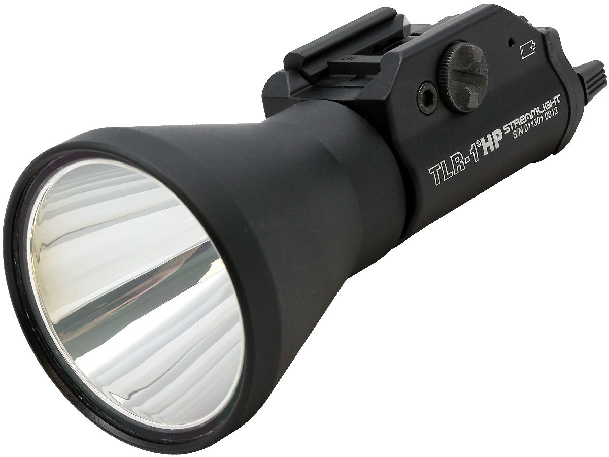 Angle Shot of the Streamlight TLR-1 HP High-Powered LED Weapon Light