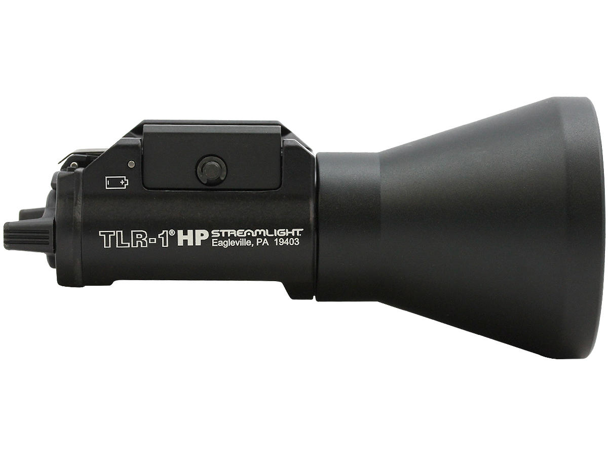 Side Shot of the Streamlight TLR-1 HP High-Powered LED Weapon Light