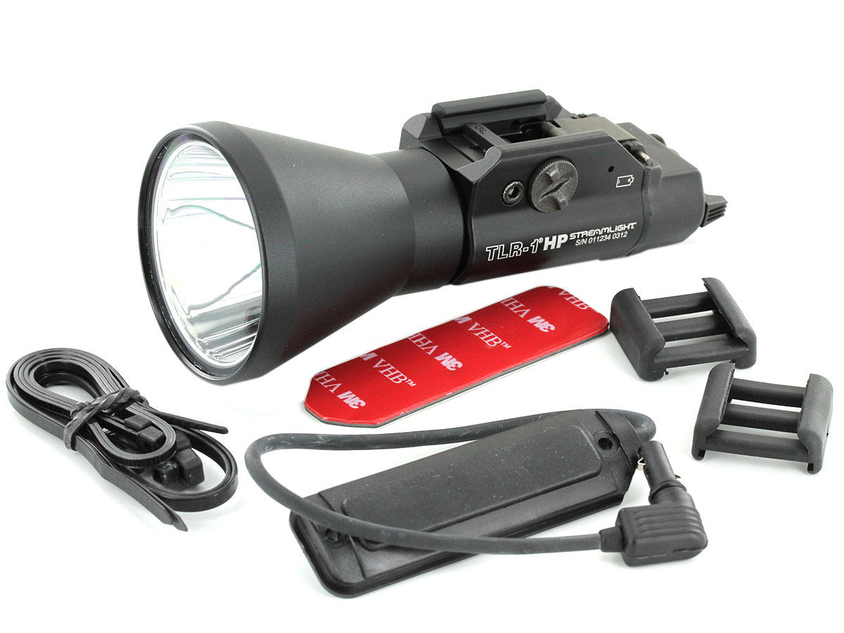 Alternative Accessory Shot of the Streamlight TLR-1 HP High-Powered LED Weapon Light