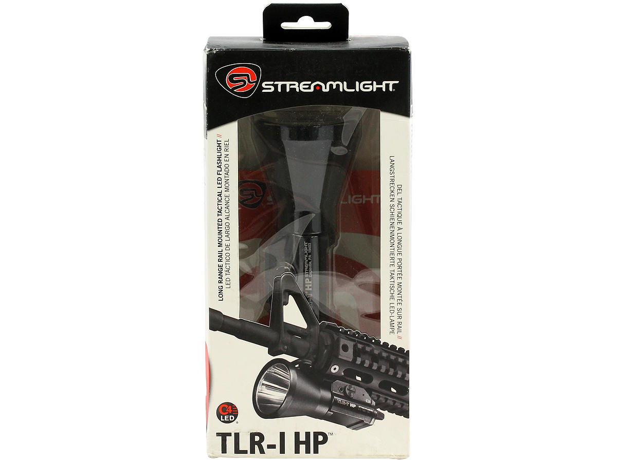 Package Shot of the Streamlight TLR-1 HP High-Powered LED Weapon Light