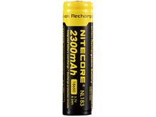 Nitecore NL1823 18650 2300mAh 3.7V Protected Lithium Ion (Li-ion) Button Top Battery - Blister Pack