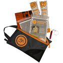 Ultimate Survival Technologies Stay Safe Kit - Includes Bandana, Poncho, Whistle, Blanket, and Light Sticks (20-12161)