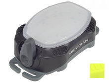 Princeton Tec Meridian Strobe / Beacon Light - Red and White LEDs - 100 Lumens - Includes 3 x AAAs - Black or Neon Yellow