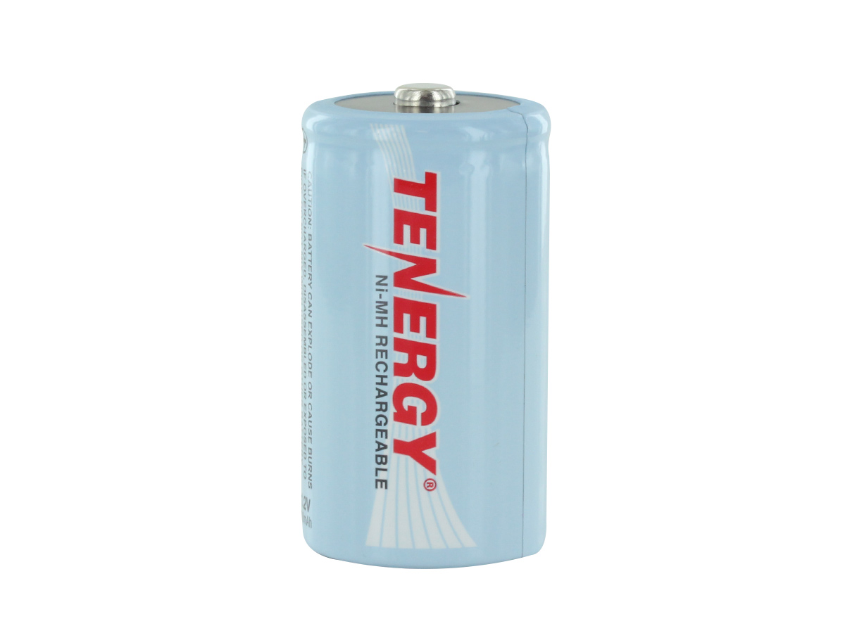 Single Tenergy 10100 D battery upright