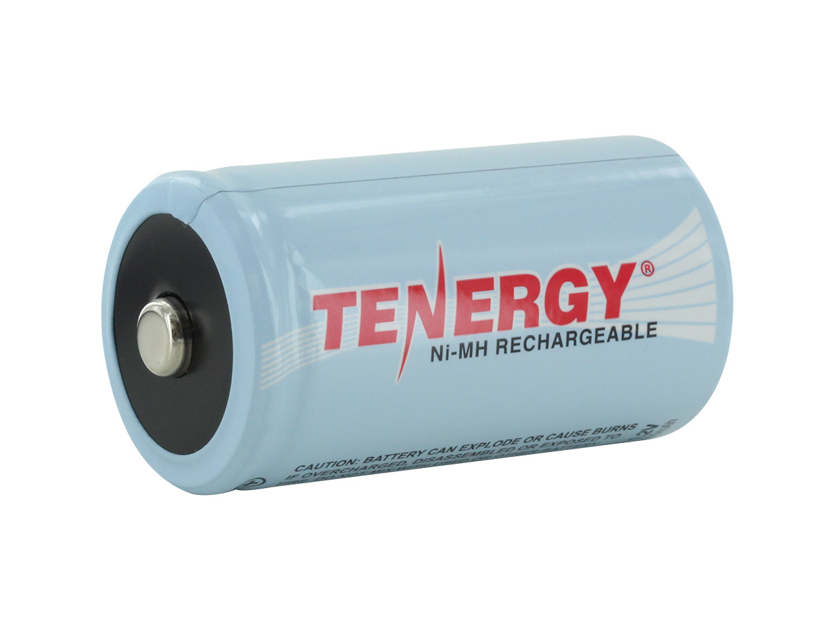Single Tenergy 10100 D cell back side angle