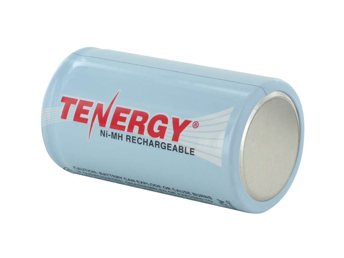 Single Tenergy 10100 D battery side profile