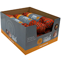 Ultimate Survival Technologies ParaTinder Point-of-Sale Display Box (PDQ) - 100 Foot  - Includes 6 Hanks of 550 Paracord with Fire Tinder (20-00043)