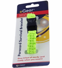 eGear Survival Essentials Para Survival Bracelet - Lime (26-295BB-32)