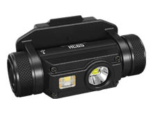 Nitecore HC65M Rechargeable Triple Output LED Helmet Light - CREE XM-L2 U2 - 1000 Lumens - Includes 1 x 18650