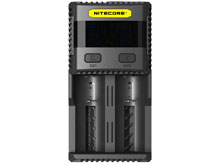 Nitecore Superb Charger SC2 2-Channel Selectable Current Smart Battery Charger for Li-ion, Ni-Cd, NiMH Batteries, and USB Devices