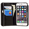 Nite Ize Connect Wallet & Case for iPhone 6 or 6s - Black (FCNTI6-01-R8)