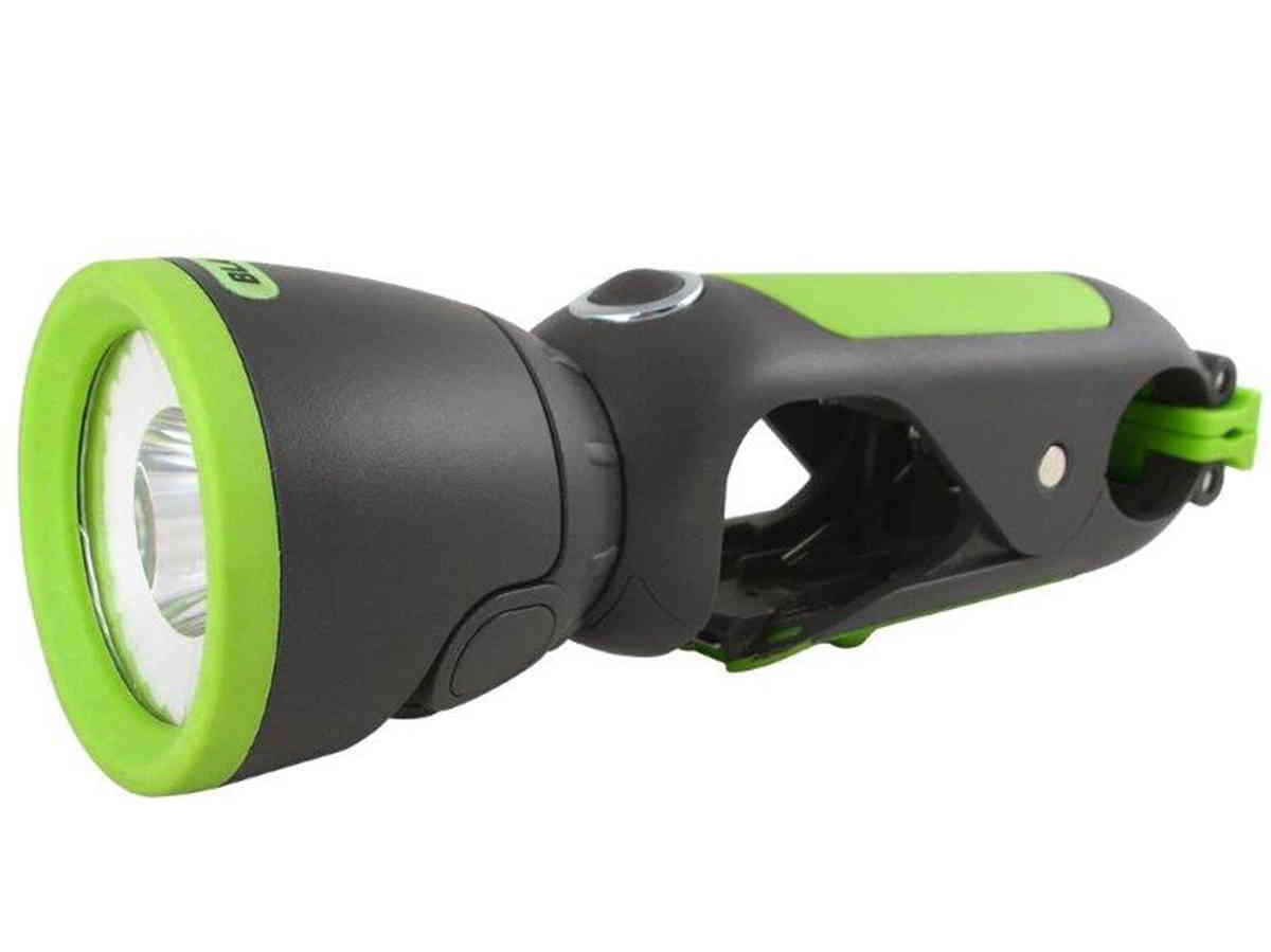 Blackfire LED clamplight side profile