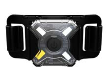 Nitecore NU05 LE Rechargeable Mini Signal Headlamp - Red, Green, Blue and White LEDs - Uses Built-In 120mAh Li-Ion Battery Pack