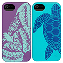 Nite Ize BioCase Biodegradable iPhone 5 Case - US Made and Eco-Friendly! - Purple Butterfly Print (BIO-IP5-23G1) or Turquoise Turtle Print (BIO-IP5-69G2)
