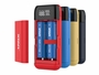 Xtar PB2S charger opened in various colors