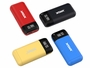 Xtar PB2S charger in red, black, yellow, and blue