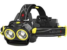 Ledlenser 880362 iXEO 19R Rechargeable LED Headlamp - 2000 Lumens - Includes 1 x Lithium Ion (Li-ion) Battery Pack - Box